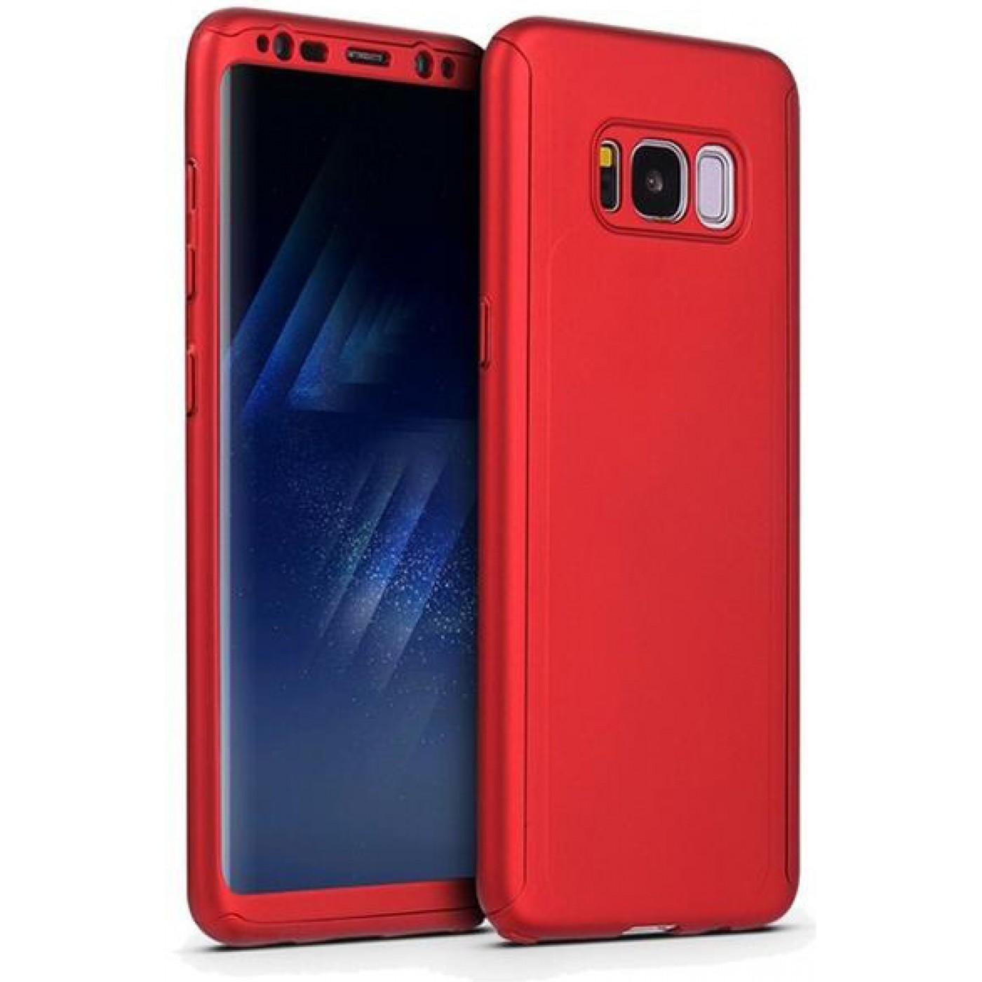 Coque Samsung Galaxy S10e - 360° Full Body rouge