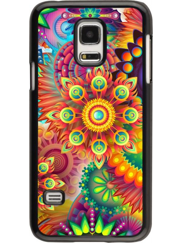 Coque Samsung Galaxy S5 Mini - Multicolor aztec